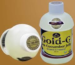 jelly gamat gold-g amandel anak